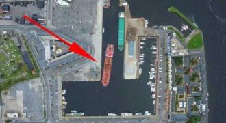 Το αριστουργηματικό «παρκάρισμα» ενός καπετάνιου σε λιμάνι της Ιρλανδίας