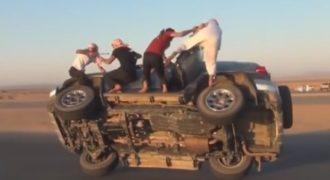 Απίστευτο: Δείτε πως αλλάζουν λάστιχα στη Σαουδική Αραβία! (Βίντεο)