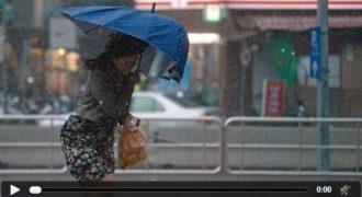 Τυφώνας ΣΟΚ ο Dujuan στην  Ταϊβάν! Στο πέρασμα του Τραυματίστηκαν Εκατοντάδες…