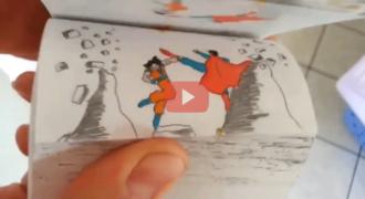 Απλά επικό! Δείτε τι έχει κάνει αυτός ο τύπος! Απίστευτο βιντεάκι με το Goku εναντίον του Superman