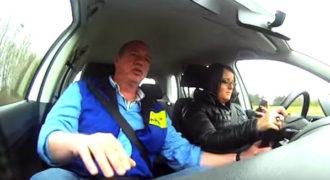 Απίστευτο πείραμα με οδηγούς που έστελναν μηνύματα ενώ οδηγούσαν!