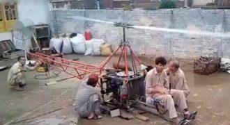 Δείτε το πακιστανικό homemade ελικόπτερο (VIDEO)