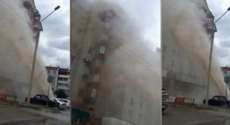 Τι γίνεται όταν σπάει ένας σωλήνας με καυτό νερό στη Ρωσία;