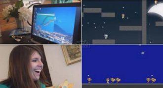 Δημιούργησε ένα βιντεοπαιχνίδι για να ζητήσει σε γάμο την κοπέλα του. Πολύ όμορφο !