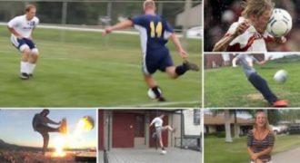 Μερικά από τα καλύτερα Fail περιστατικά που έχουμε δει παίζοντας ποδόσφαιρο. (Βίντεο)