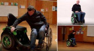 Δαιμόνιος χτίζει μια επαναστατική αναπηρική καρέκλα για τον καλύτερο του φίλο. (Βίντεο)