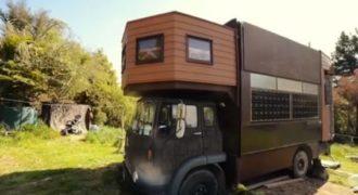 Δείτε πως αυτό το παλιό φορτηγό θα μεταμορφωθεί σε ένα απίστευτο κάστρο!