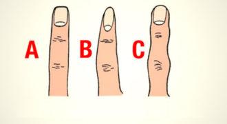 Το σχήμα των δαχτύλων μας λέει πολλά για την προσωπικότητά μας!