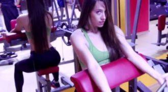 Η κοπέλα που αναστάτωσε ολόκληρο γυμναστηριο με τα βογκητά της