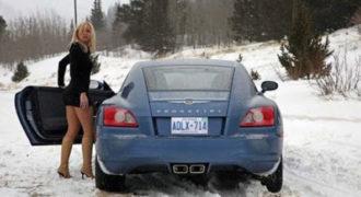 Γυναίκα – Αυτοκίνητο – Πάγος – Ρωσία: 4 Λέξεις κλειδιά για να γίνει το… ατύχημα! (βίντεο)