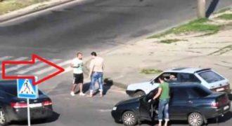Πούλαγε μαγκιά σε όλους τους οδηγούς, μέχρι που βρήκε το μάστορά του! – Video