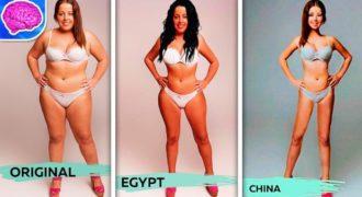 Πως είναι η «Τέλεια Γυναίκα» σε 18 διαφορετικές χώρες του κόσμου. (Βίντεο)