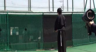 ΕΝΤΥΠΩΣΙΑΚΟ! Δείτε το κατόρθωμα ενός σύγχρονου σαμουράι! (Βίντεο)