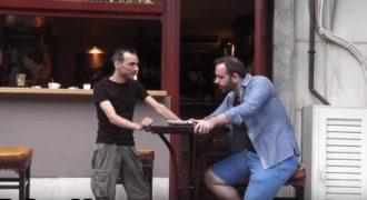 Το βίντεο με τον νταλικέρη και την βότκα που κάνει τον γύρο του διαδικτύου. χαχα!