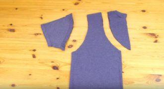 Δείτε πως μπορείτε να δημιουργήσετε την δικιά σας τσάντα από ένα μπλουζάκι. (Βίντεο)