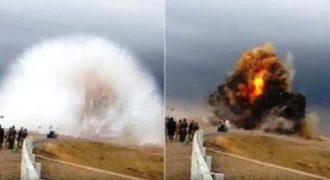 Εντυπωσιακό βίντεο δείχνει την έκρηξη παγιδευμένου αυτοκινήτου στο Ιράκ. (Βίντεο)