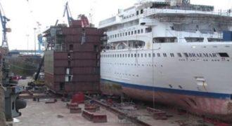 Απίστευτο βίντεο: Κρουαζιερόπλοιο κόβεται στη μέση και επιμηκύνεται – Δουλειά 2 μηνών σε 3,5 λεπτά!