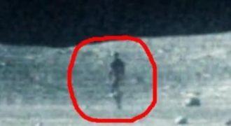 Τρομακτικό: Κάποιος περπατάει στο Φεγγάρι και… δεν είναι άνθρωπος! (Βίντεο)