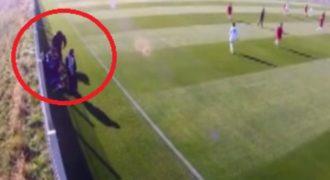Σοκαριστικό βίντεο: Προπονητής κλωτσά με μανία 16χρονο παίκτη του!