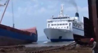 Δείτε 10 από τις πιο κορυφαίες συγκρούσεις πλοίων που έχουν πιαστεί στον φακό! [Βίντεο]