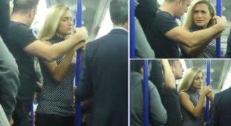 Βίντεο: Δείτε τι συμβαίνει όταν ένας άνδρας «παρενοχλεί» μια γυναίκα στο μετρό