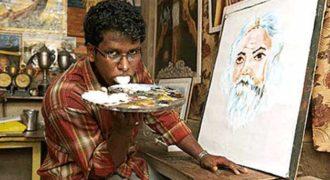 Ζωγραφίζει πίνακες με τη… γλώσσα! (βίντεο)