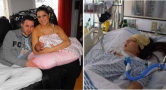 Είχε μια υγιή εγκυμοσύνη και μια φυσιολογική γέννα. Δυστυχώς όμως, 72 ώρες μετά συνέβει κάτι τραγικό