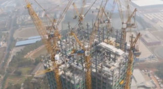 Κατασκεύασαν 57όροφο ουρανοξύστη σε 19 ημέρες (Video)