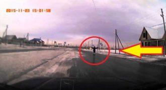 Δείτε τι Συνέβη σε έναν Παγωμένο δρόμο του Καζακστάν…(Βίντεο)