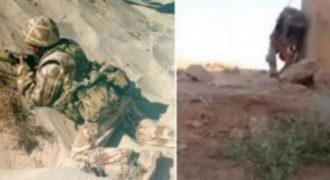 Δείτε τι έκανε αυτός ο στρατιώτης για να ξεφύγει από έναν ελεύθερο σκοπευτή των ISIS.