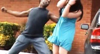 ΑΠΙΣΤΕΥΤΟ κι όμως ΑΛΗΘΙΝΟ! Δείτε τι συνέβη όταν πήγε να σηκώσει χέρι στην κοπέλα του! (βίντεο)
