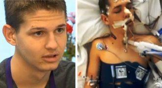 Ένας 17χρονος έμεινε νεκρός για 20 λεπτά και όταν επανήλθε περιέγραψε όσα είδε πριν επιστρέψει στη ζωή!(βίντεο)
