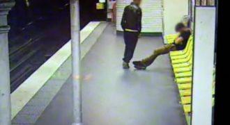 Ένας κλέφτης σώζει τη ζωή του θύματος του στο μετρό του Παρισιού (Βίντεο)