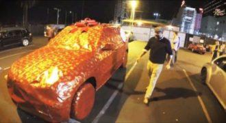 Όταν βρήκε το αμάξι του σε αυτή την κατάσταση. Πάγωσε. Αυτό όμως ήταν το Λιγότερο…