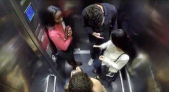 Βίντεο δείχνει πως αντιδράει ο κόσμος όταν ένας άντρας επιτίθεται στην φίλη του.