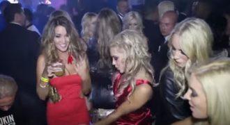 Όταν τα πάρτι στραβώνουν και χαλάει η διασκέδαση από το πολύ ποτό!(Βίντεο)