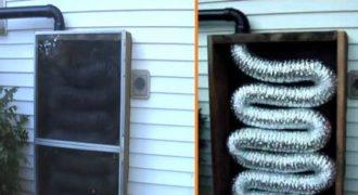 Πως θα φτιάξετε την δικιά σας ηλιακή θέρμανση για το σπίτι με μόλις 50$. (Βίντεο)
