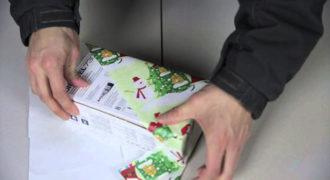 Ένα απίθανο γιαπωνέζικο τρικ για γρήγορο τύλιγμα δώρων (Video)