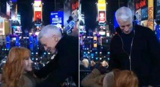 Στoματiκός έpωτας σε ζωντανή σύνδεση του CNN! (Βίντεο)