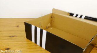 Δείτε τι μπορείτε να κάνετε με ένα παλιό κουτί. Παιδικό όνειρο όλων μας. (Βίντεο)