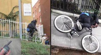 Φαρσέρ παίρνουν εκδίκηση από κλέφτες ποδηλάτων με τον πιο πονηρό τρόπο!