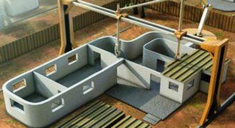 Αυτός ο 3D εκτυπωτής μπορεί να χτίζει 10 σπίτια την ημέρα! (ΒΙΝΤΕΟ)