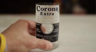 Δείτε πώς μπορείτε να μετατρέψετε ένα μπουκάλι μπύρας σε ποτήρι μέσα σε 2 λεπτά!