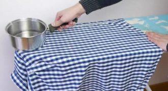 Έριξε βραστό νερό μέσα σε μια κατσαρόλα και ξεκίνησε να σιδερώνει… Αυτά που έκανε…