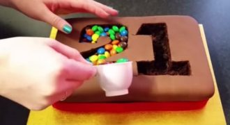 Η τούρτα Γενεθλίων που κάνει θραύση στο διαδίκτυο. Δείτε Πως θα την Κάνετε!