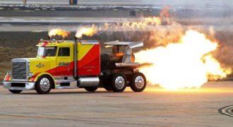 Shockwave: Το… πυραυλοκίνητο φορτηγό με τελική ταχύτητα 600 χλμ/ώρα
