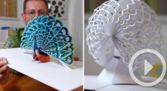 Αυτός ο καλλιτέχνης δημιουργεί κάτι εντυπωσιακό που δεν έχετε ξαναδεί (Βίντεο)