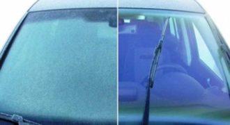 Φοβερό κόλπο: Πως θα ξεπαγώσεις το παρμπρίζ του αυτοκινήτου σου μέσα σε λίγα δευτερόλεπτα! (VIDEO)