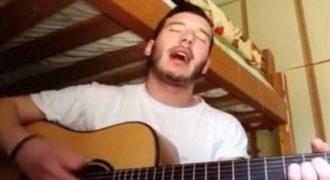 «Να τραγουδάς και στους αγγέλους, να καταλάβουν τι αξίζεις επιτέλους…»: Το συγκλονιστικό τραγούδι που γράφτηκε για τον άδικο χαμό του Παντελίδη!
