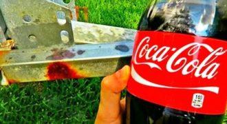 Δείτε πως η Coca Cola αφαιρεί την σκουριά με μαγικό τρόπο